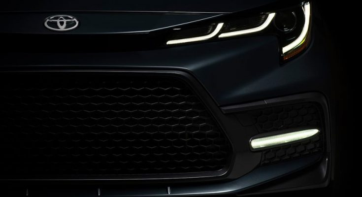 All New Toyota Corolla Altis Teased Ahead of Debut 1