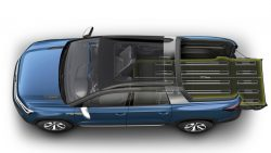 VW Unveils its New Tarok Pickup Concept 9