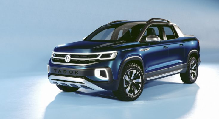 VW Unveils its New Tarok Pickup Concept 1