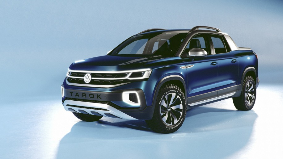 VW Unveils its New Tarok Pickup Concept 3