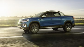 VW Unveils its New Tarok Pickup Concept 4