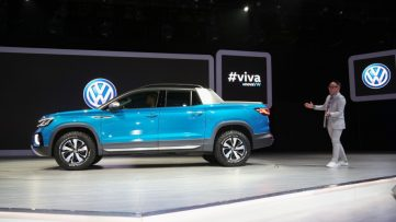 VW Unveils its New Tarok Pickup Concept 3