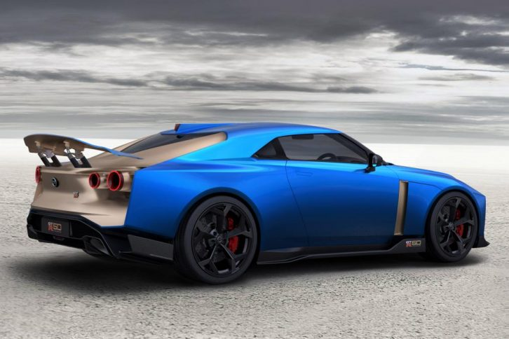 Production Version of EUR 1 Million Nissan GT-R50 Revealed 5