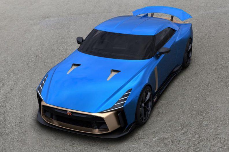 Production Version of EUR 1 Million Nissan GT-R50 Revealed 1