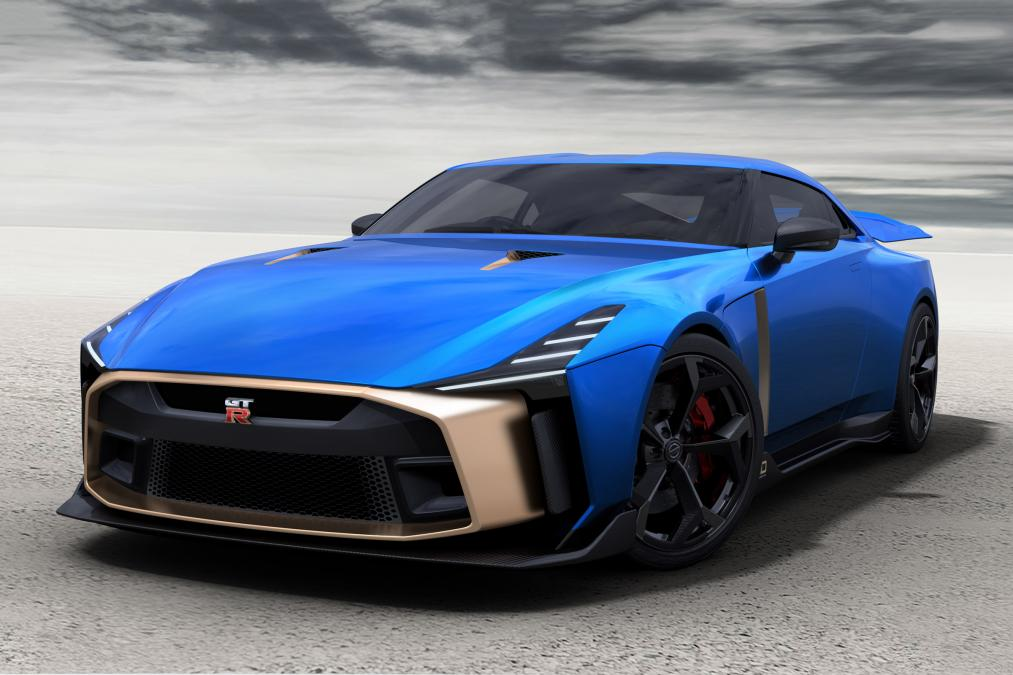 Production Version of EUR 1 Million Nissan GT-R50 Revealed 2