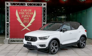 Volvo XC40 Named the 2018-19 Japan Car of the Year 3