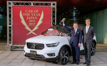 Volvo XC40 Named the 2018-19 Japan Car of the Year 10