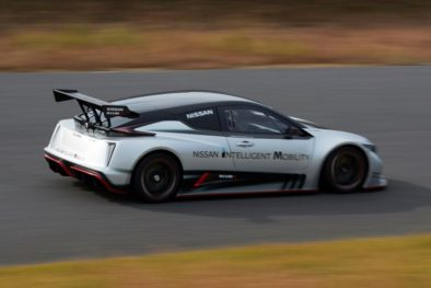 The 322hp Nissan Leaf Nismo RC Electric Race Car Revealed 10