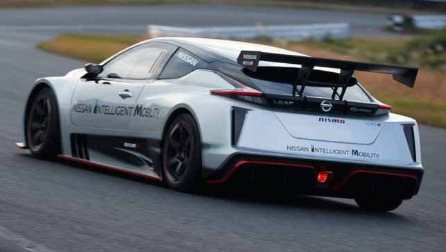 The 322hp Nissan Leaf Nismo RC Electric Race Car Revealed 13