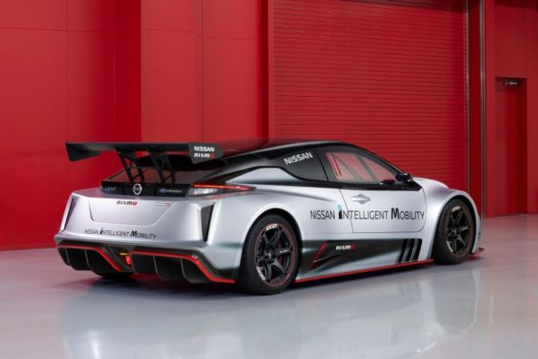 The 322hp Nissan Leaf Nismo RC Electric Race Car Revealed 4