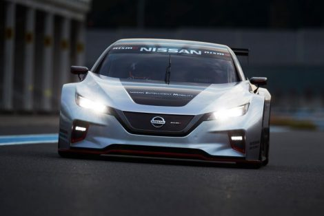 The 322hp Nissan Leaf Nismo RC Electric Race Car Revealed 7
