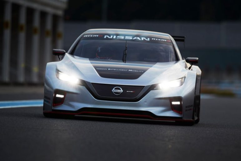 The 322hp Nissan Leaf Nismo RC Electric Race Car Revealed 6