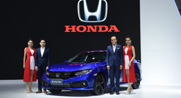 2019 Honda Civic Facelift Launched in Thailand 1
