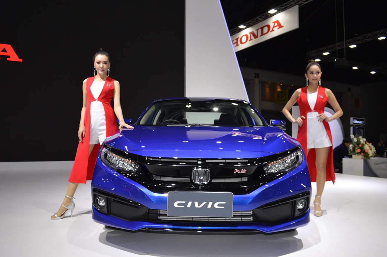 2019 Honda Civic Facelift Launched in Thailand 5