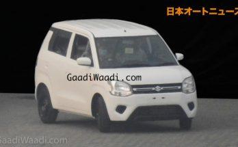 2019 Maruti Wagon R Spied Undisguised 10