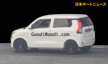 2019 Maruti Wagon R Spied Undisguised 4