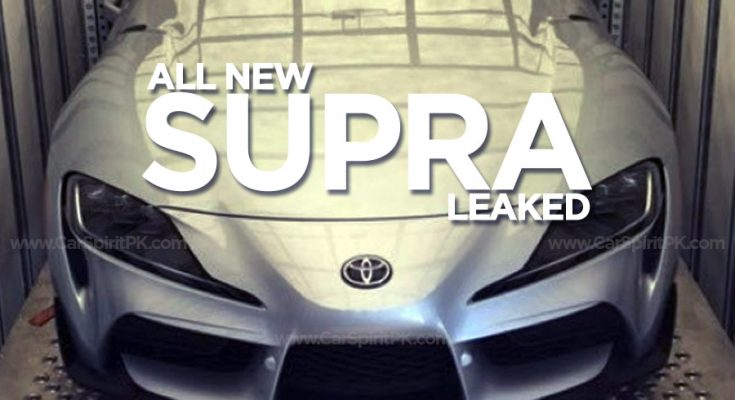 Toyota Supra A90 Leaked Well Ahead of Debut 1