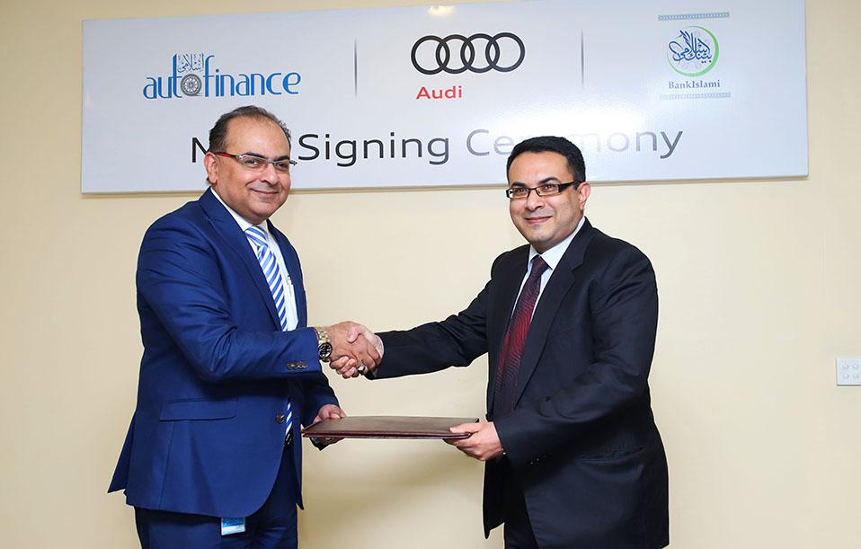 BankIslami Extends Strategic Alliance with Audi Pakistan 11