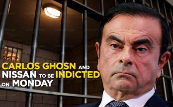Carlos Ghosn and Nissan Motors to be Indicted on Monday 18