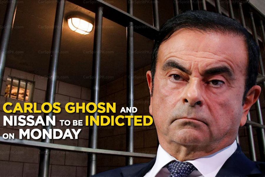 Carlos Ghosn and Nissan Motors to be Indicted on Monday 1