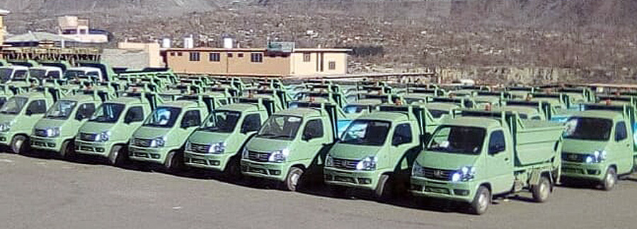 FAW Carrier Delivered to Gilgit Baltistan Waste Management Company 5