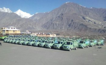 FAW Carrier Delivered to Gilgit Baltistan Waste Management Company 3