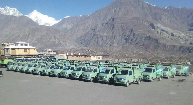 FAW Carrier Delivered to Gilgit Baltistan Waste Management Company 1