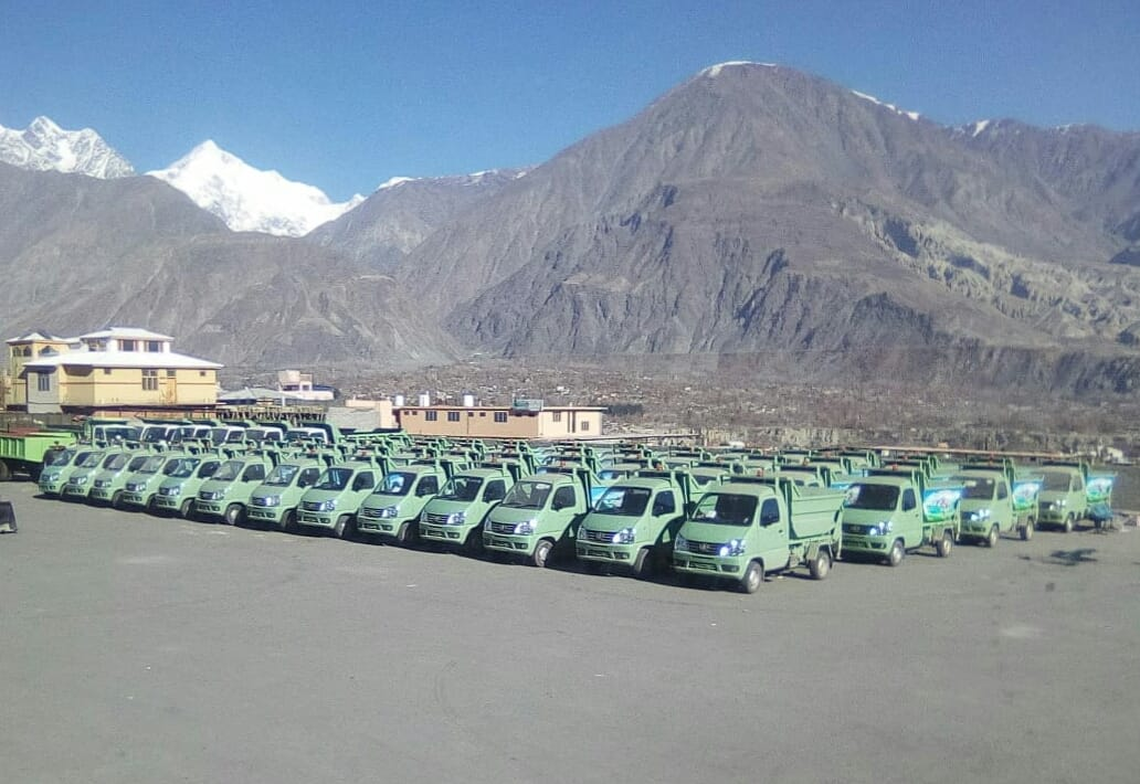 FAW Carrier Delivered to Gilgit Baltistan Waste Management Company 2