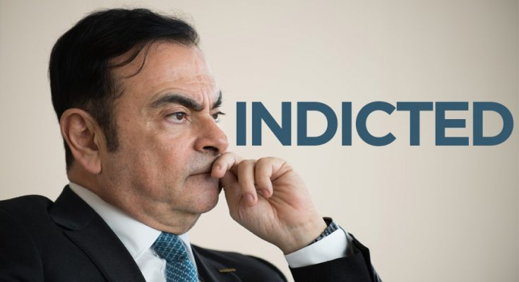 Former Nissan Chairmain Carlos Ghosn Charged with Financial Misconduct 1