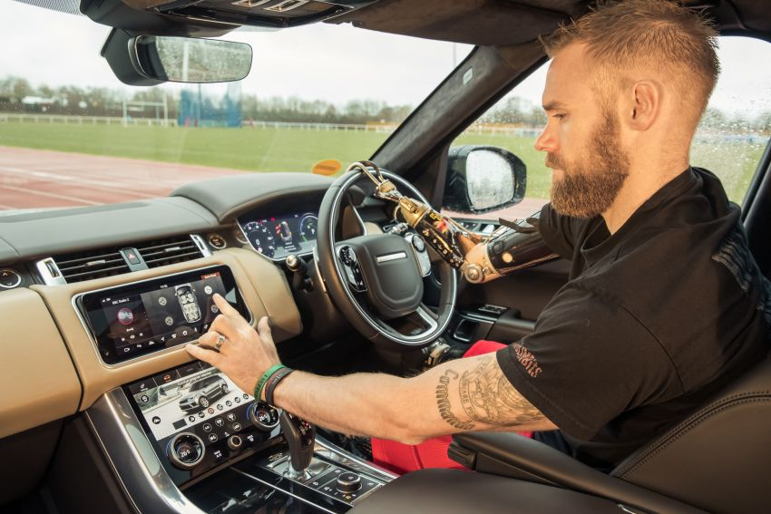 Jaguar Land Rover Testing Automatic Doors for Disabled 5