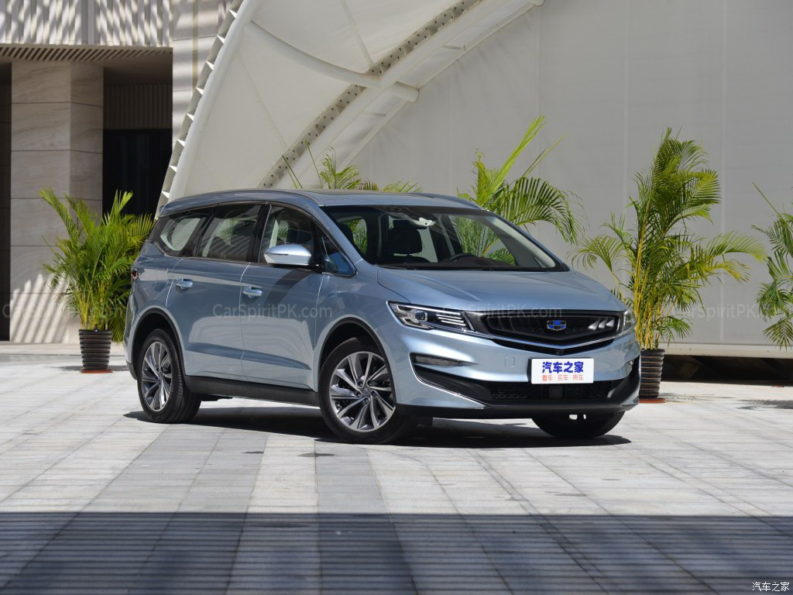 Geely Unveils Its First MPV- JiaJi in China 6