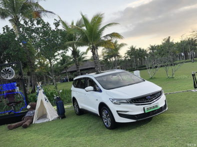 Geely Unveils Its First MPV- JiaJi in China 48