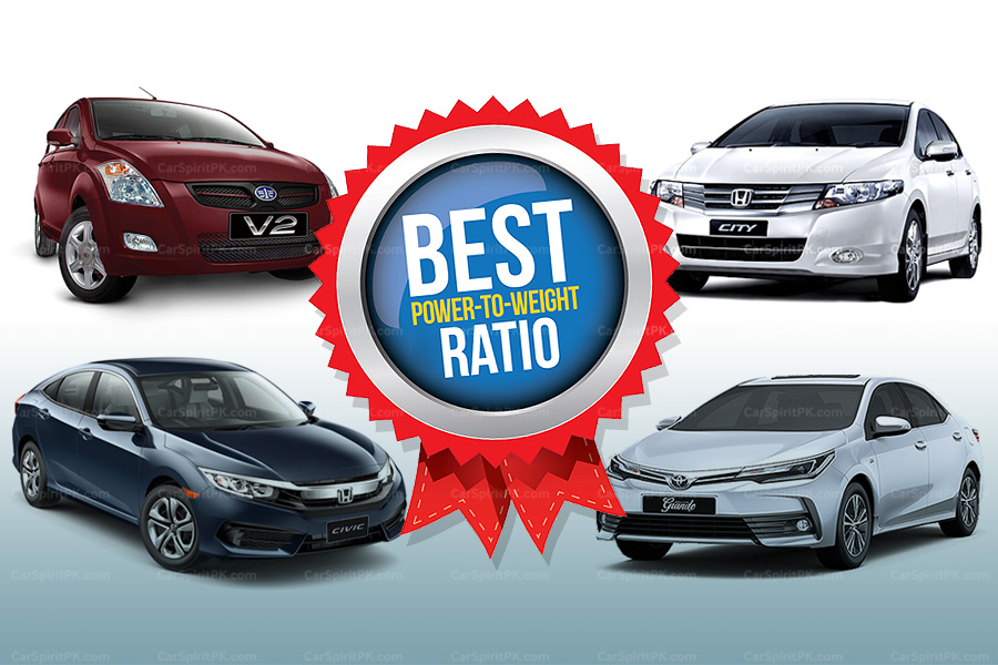 Local Assembled Cars with Best Power to Weight Ratio 1