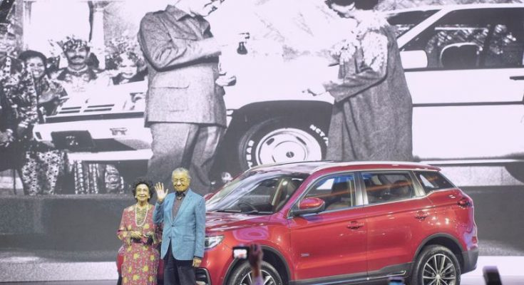 Proton's First SUV- the X70 Launched in Malaysia 1