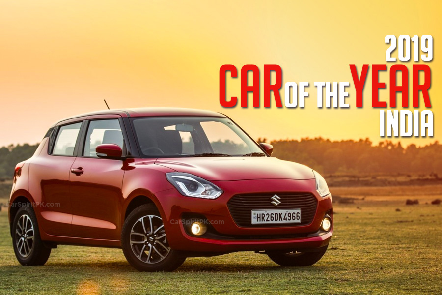 Suzuki Swift Wins 2019 Indian Car of the Year Award 1