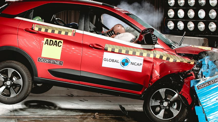 Tata Nexon becomes the first Indian car to score 5 stars from Global NCAP 5