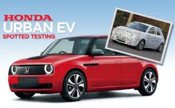 Honda Urban EV Spotted Testing 11