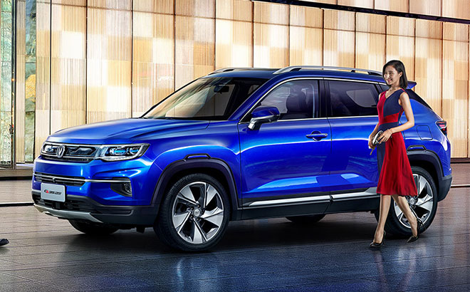 Changan Launches the CS35 Plus Crossover SUV in China 11
