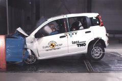 Fiat Panda Gets Zero Star NCAP Crash Test Rating 3