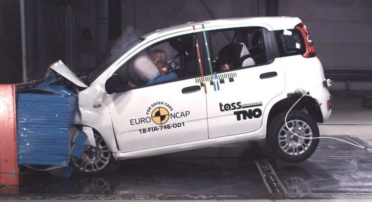 Fiat Panda Gets Zero Star NCAP Crash Test Rating 1