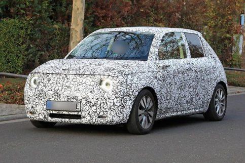 Honda Urban EV Spotted Testing 2