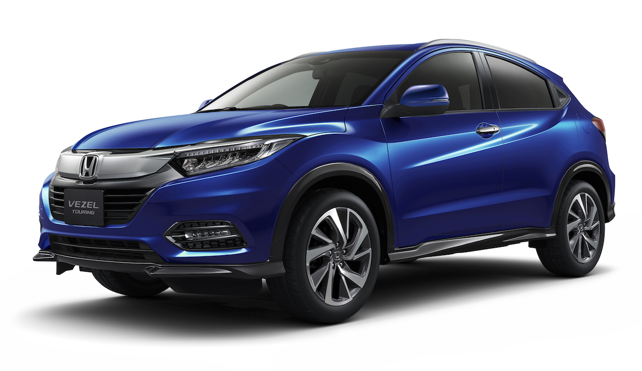 Honda to Launch Vezel Touring in Japan 8