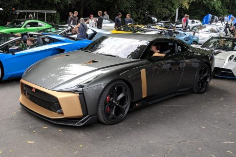 Production Version of EUR 1 Million Nissan GT-R50 Revealed 6