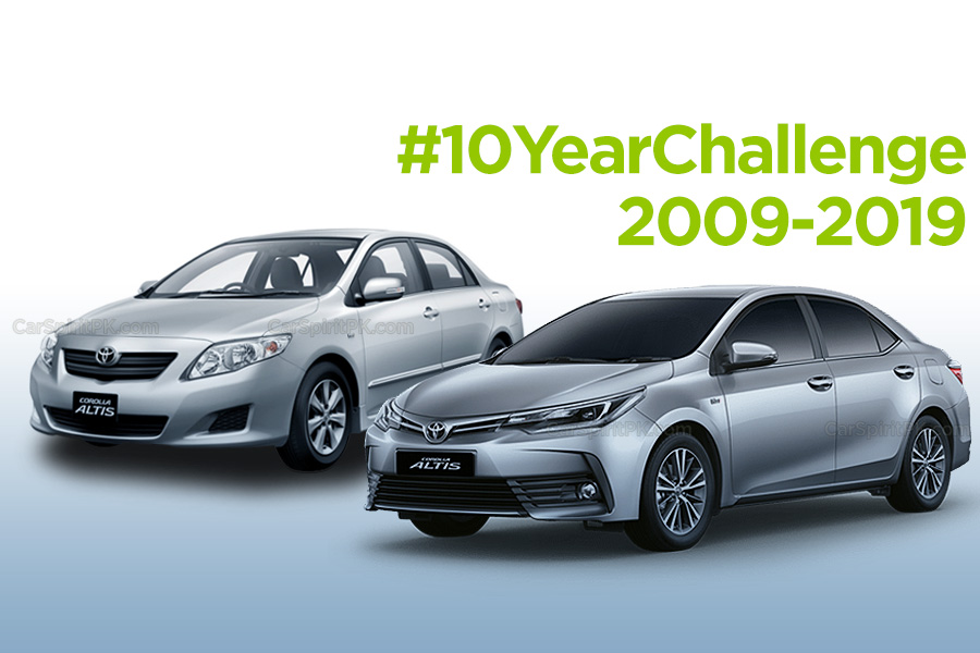 Cars in Pakistan and the #10YearChallenge 10
