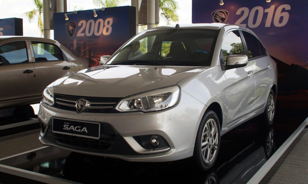 The Upcoming 1.3L Proton Saga Sedan 7
