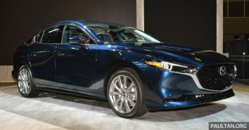 2019 Mazda 3 Previewed at Singapore Motor Show 2