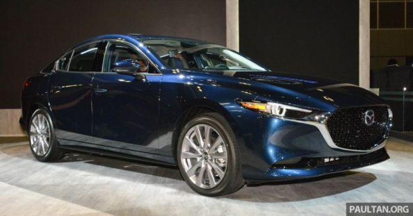 2019 Mazda 3 Previewed at Singapore Motor Show 1