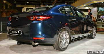 2019 Mazda 3 Previewed at Singapore Motor Show 3