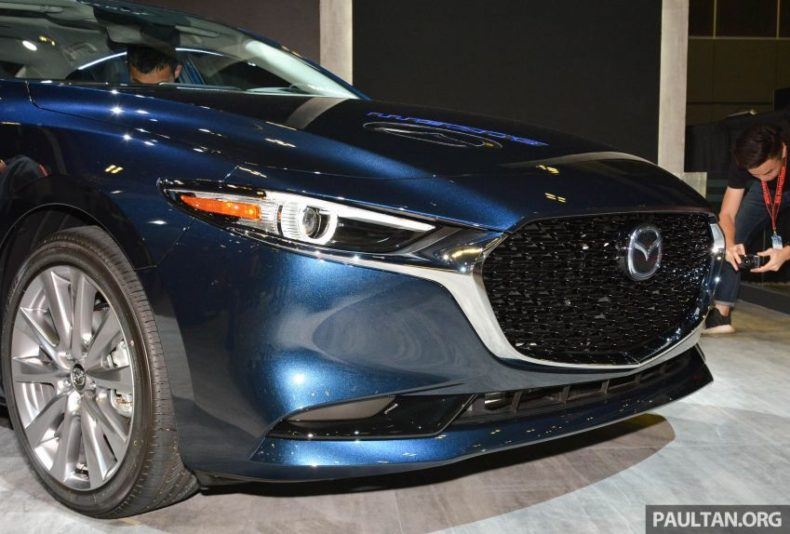 2019 Mazda 3 Previewed at Singapore Motor Show 4