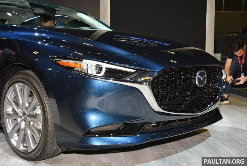 2019 Mazda 3 Previewed at Singapore Motor Show 6
